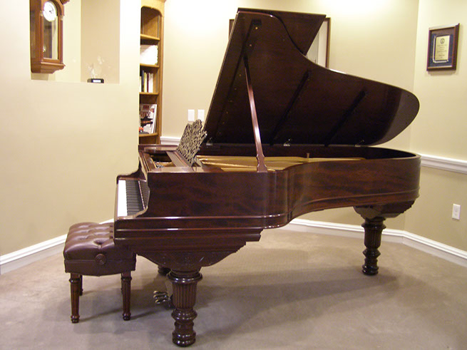 Steinway & Sons 1887 Model 'C' grand piano